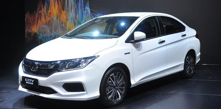Honda City front
