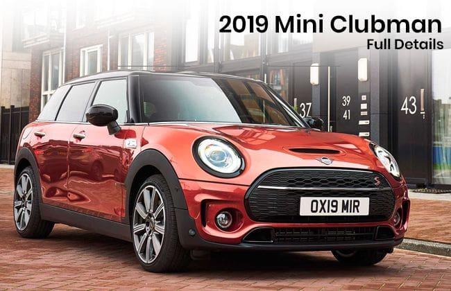 2019 Mini Clubman - Full details