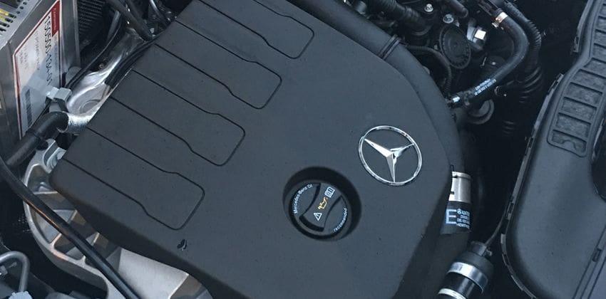 2019 Mercedes-Benz A-Class engine