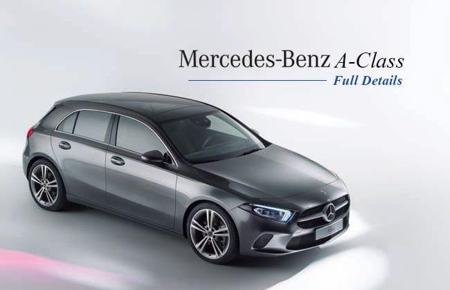 2019 Mercedes-Benz A-Class - Full details