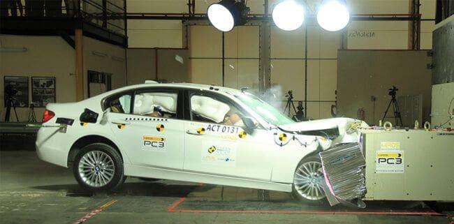 BMW 318i sedan scores four stars in Asean NCAP crash test