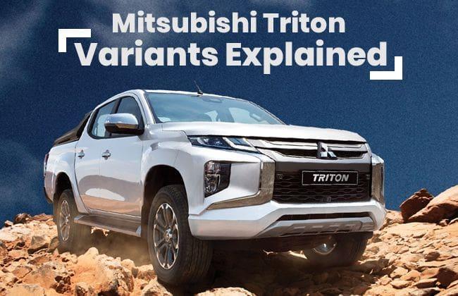 Mitsubishi Triton - Variants Explained