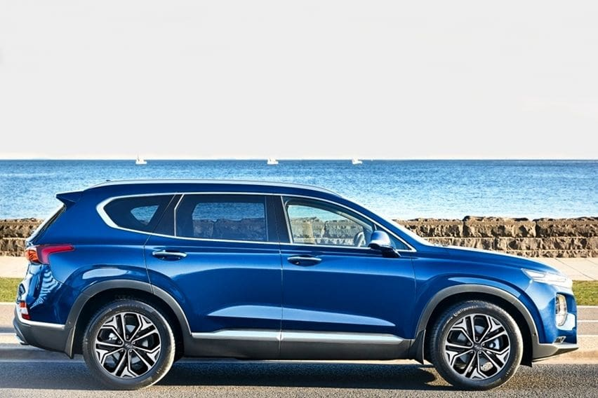 Lebih Bertenaga, Hyundai Tambahkan Mesin 3.5L V6 di Santa Fe 2020