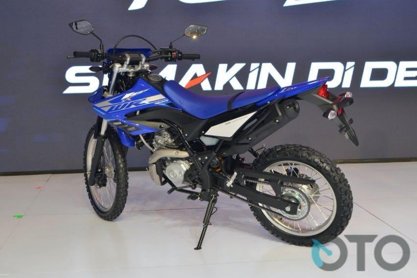 Yamaha WR 155 rear