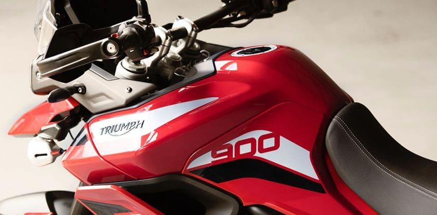 2020 Triumph Tiger 900 LCD screen
