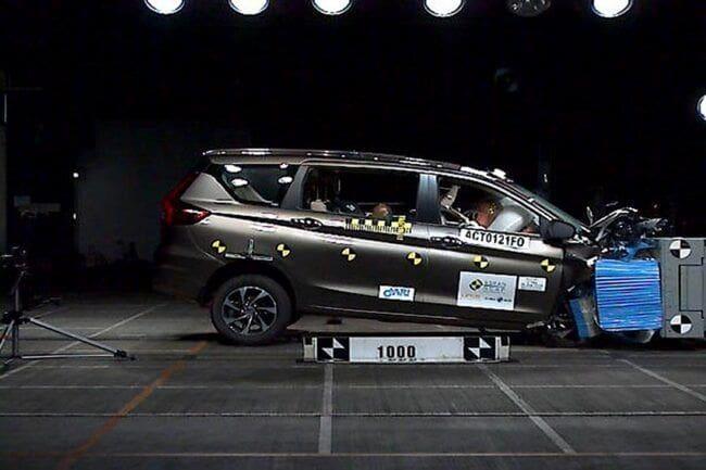 ASEAN NCAP Beri Lima Bintang Untuk Perlindungan Anak All new Suzuki Ertiga