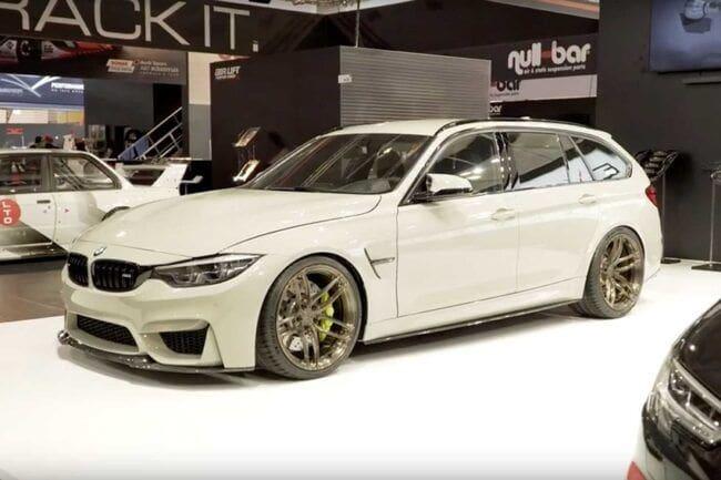 BMW M3 CS Estate, Interpretasi Estate Kompak nan Kencang ala Divisi Motorsport