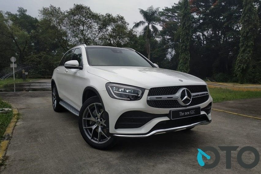 SUV Mercedes-Benz GLC laris