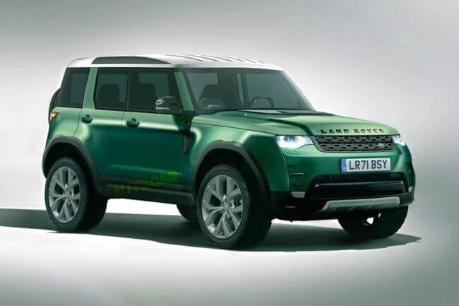 Land Rover Siapkan Mobil Murah, Terinspirasi Bentuk Defender