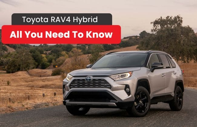 Toyota RAV4 Hybrid - All you need to know