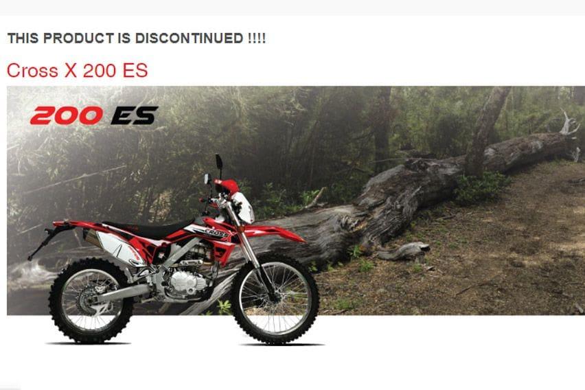 Kalah Saing, Motor Trail Viar Cross X 200 ES Disuntik Mati