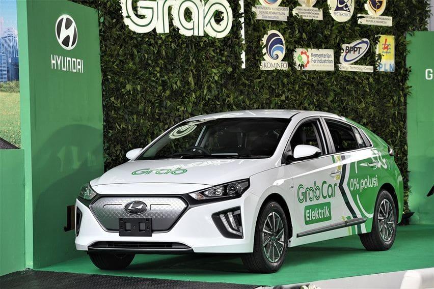Hyundai Ioniq EV Grab Indonesia