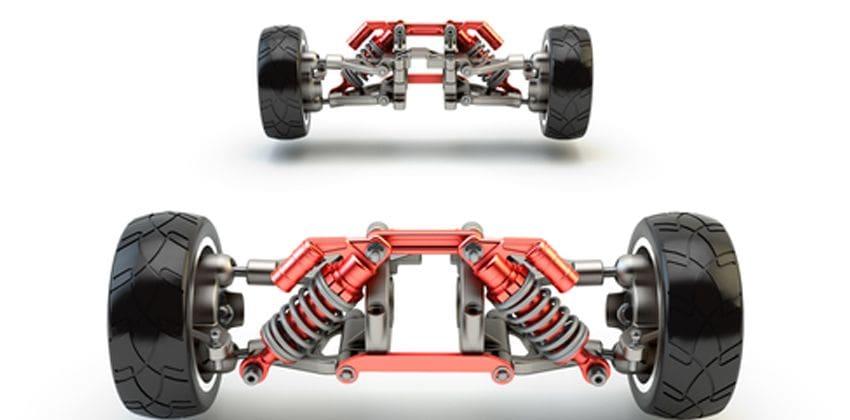Vehicle Anatomy - front & rear axle