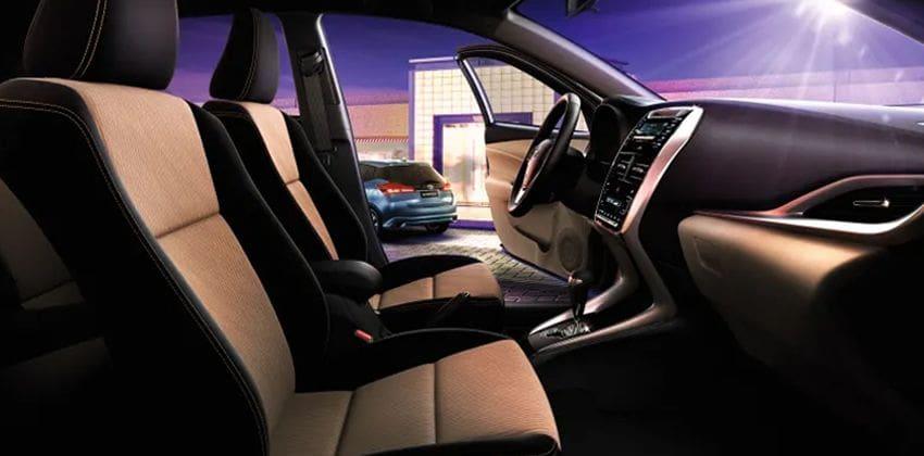Toyota Yaris Hatchback cabin