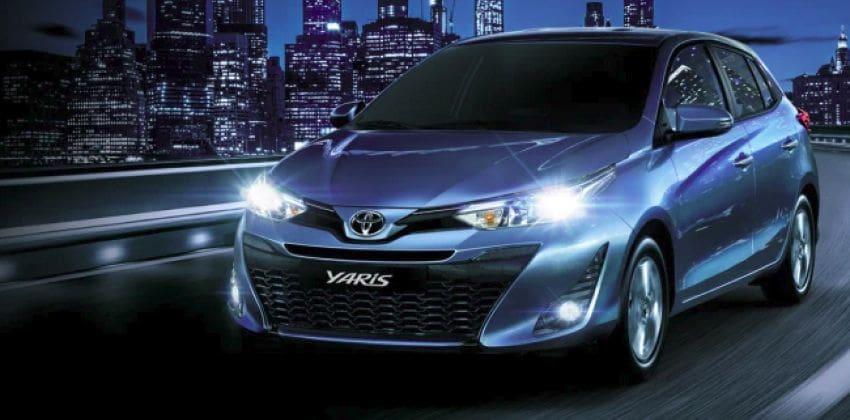 Toyota Yaris Hatchback front