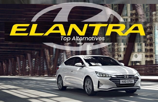 Hyundai Elantra - Top alternatives