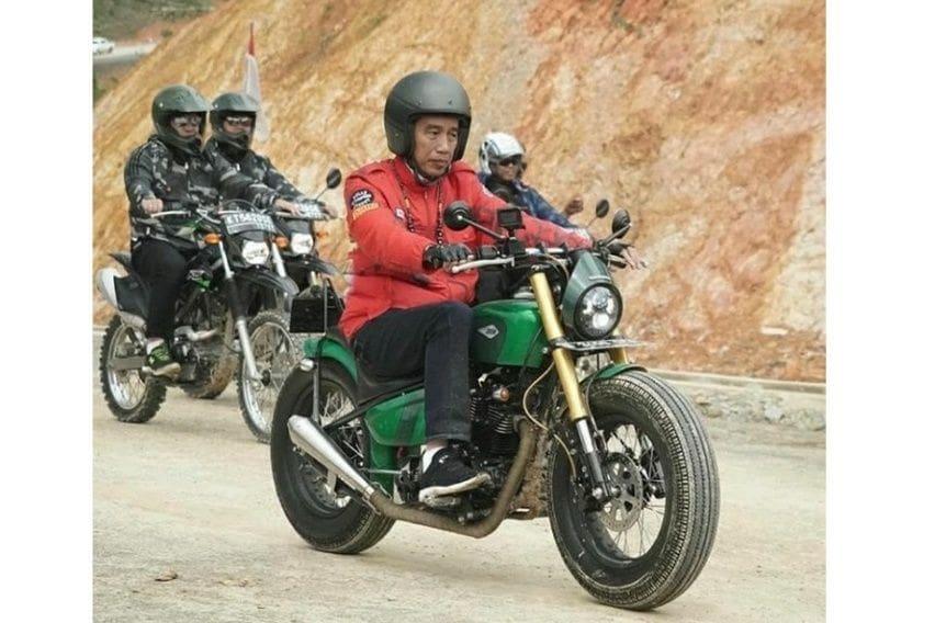 Ini Spesifikasi Kawasaki W175 Custom Jokowi untuk Tinjau Jalan Perbatasan