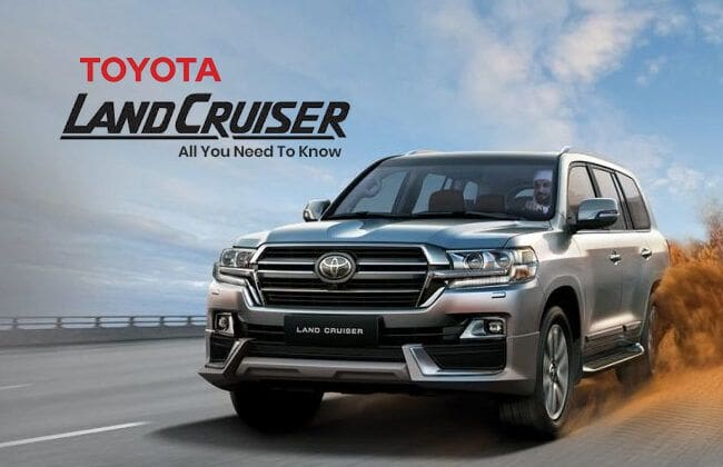Toyota Land Cruiser - All you need to know