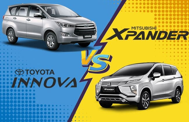 Is Toyota Innova better than Mitsubishi Xpander? Detailed Comparison