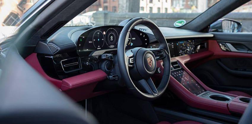 2020 Porsche Taycan interior