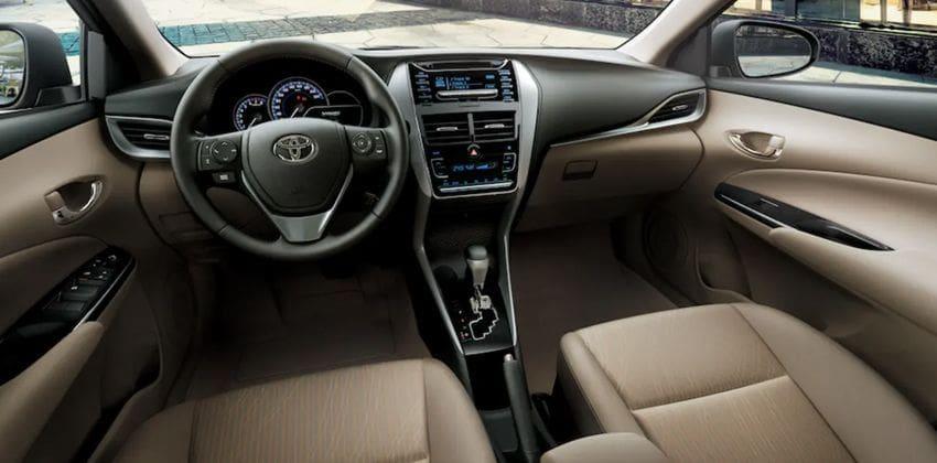 Toyota Yaris cabin