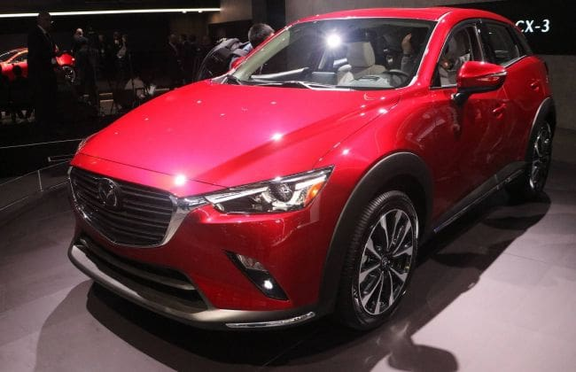 Mazda, to shift production of CX-3 from Thailand to Japan