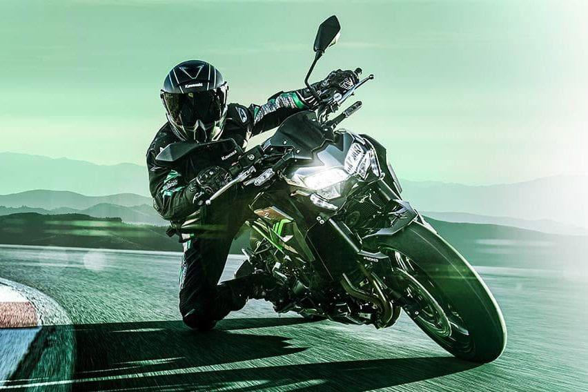 Kawasaki Z900 2020 Handling