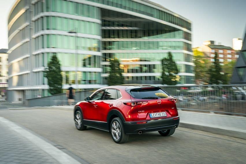 Mazda CX-30 dibangun dari Mazda3 terbaru