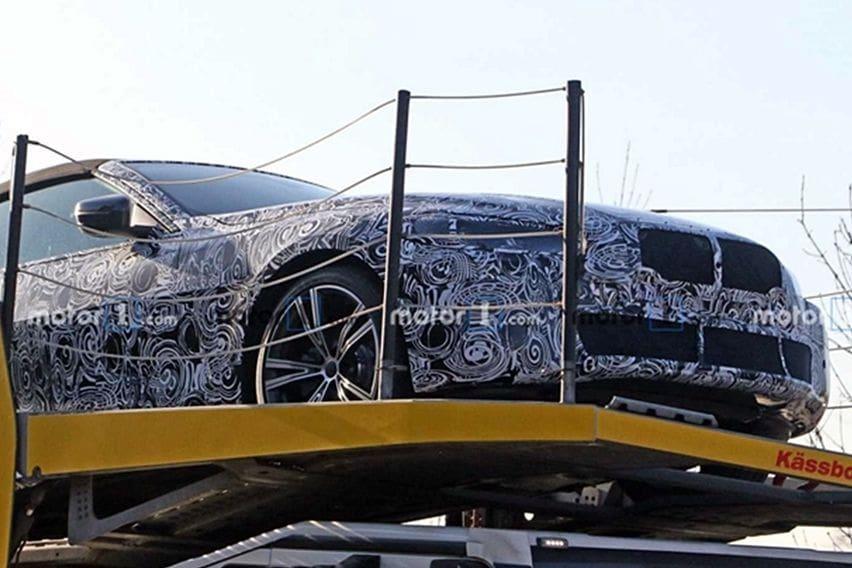 BMW 4-Series Cabriolet Tertangkap Kamera Saat Tertidur Pulas, Wujud Bokong Anyar Mulai Terkuak