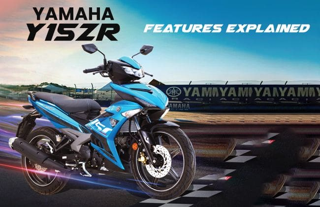 Yamaha Y15ZR - Features explained