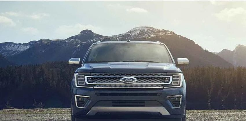 new Ford Expedition front