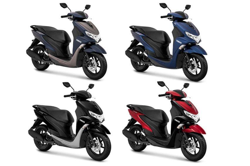 Yamaha FreeGo 2020 Punya 7 Warna Baru