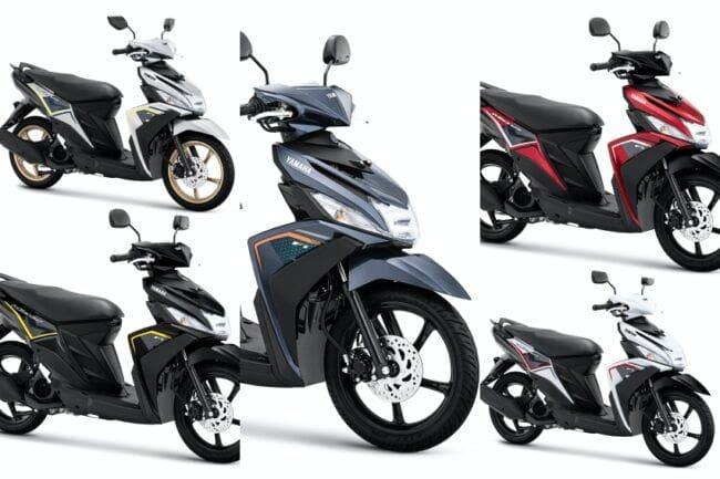 Yamaha Mio M3 2020, Warna Anyar Harga Baru