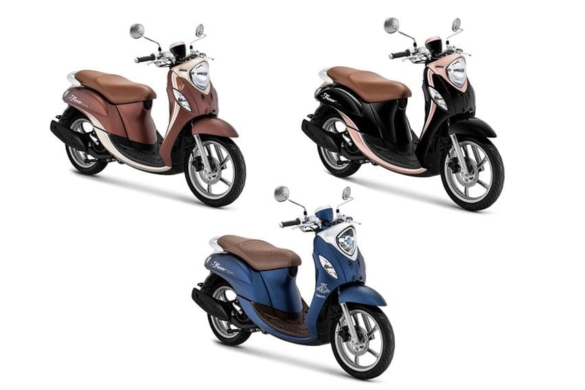 Dua Varian Yamaha Fino Punya Warna Baru, Harga Tak Naik