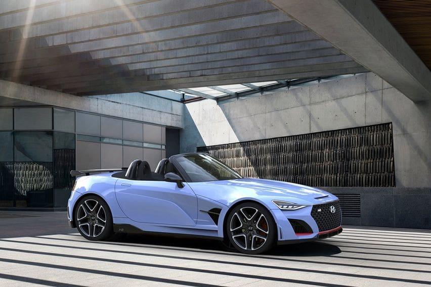 Hyundai N roadster rendering
