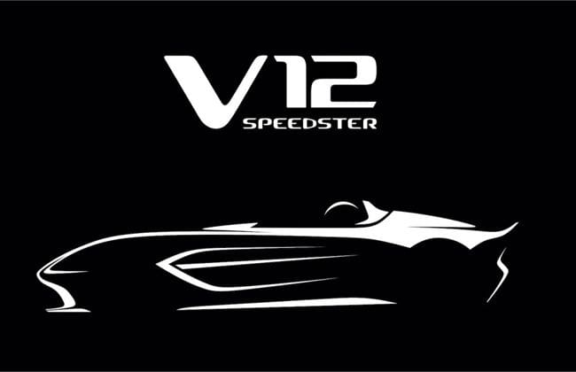 Aston Martin to produce 88 units of the V12 Speedster