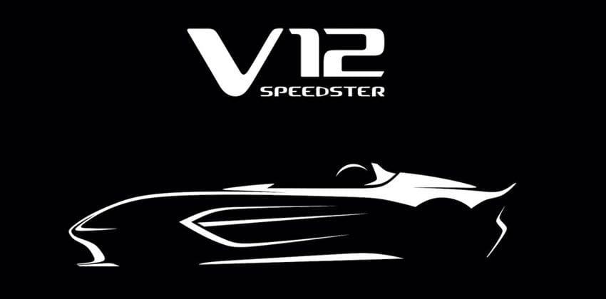 upcoming V12 Speedster