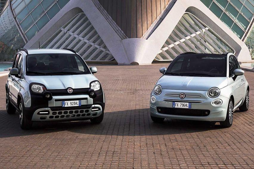 Fiat Kenalkan 500 dan Panda Mild Hybrid