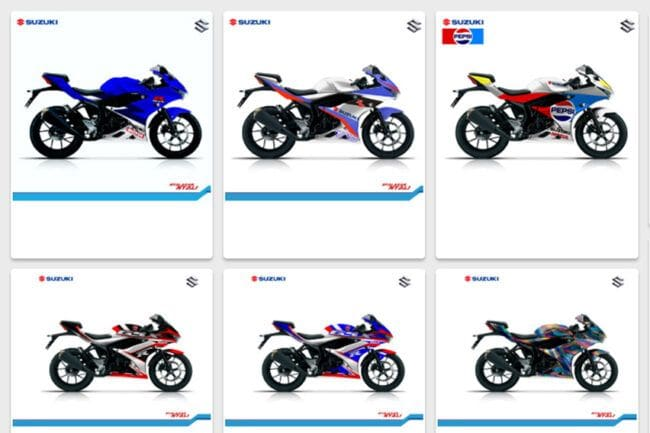 Suzuki Gelar Kompetisi Modifikasi Digital GSX Series