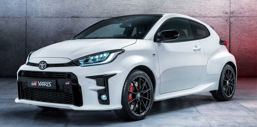 Toyota GR Yaris uncovered