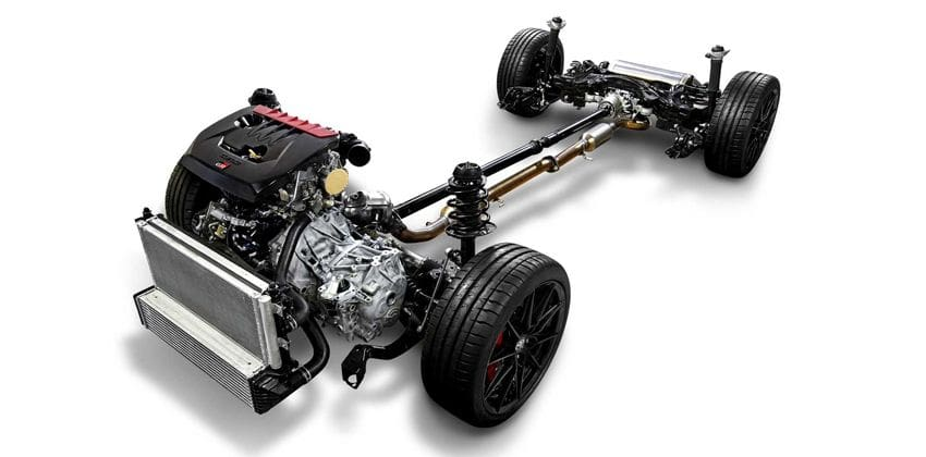 Toyota GR Yaris chassis