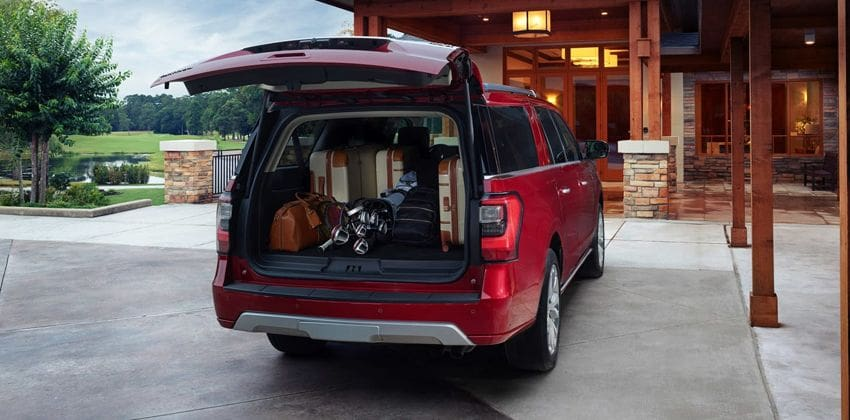 Ford Expedition boot space