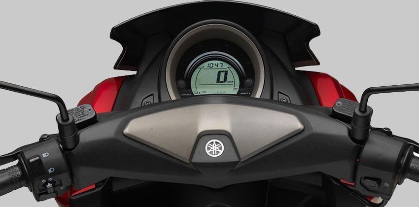 Yamaha Nmax LCD instrument panel