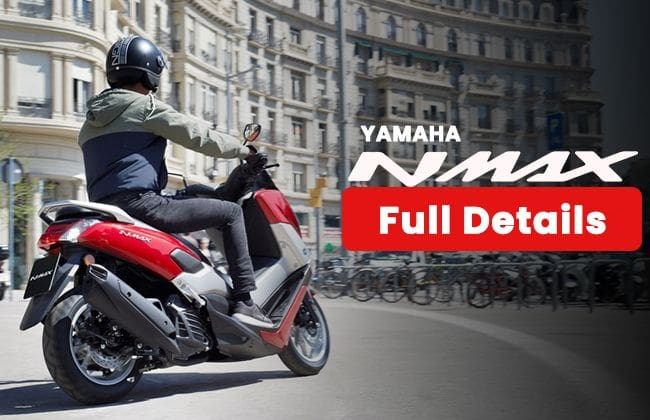 Yamaha Nmax - Full details