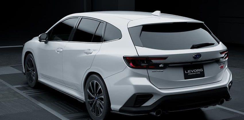 Subaru Levorg STI Sport at Tokyo Auto Salon