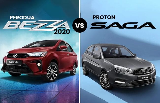 2020 Perodua Bezza vs 2019 Proton Saga - The better pick