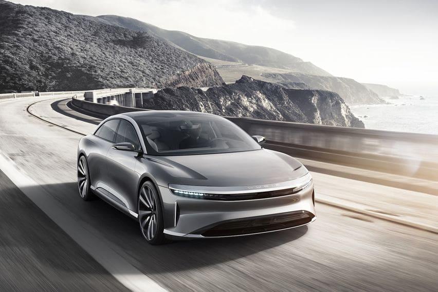 Sedan Listrik Lucid Air Penantang Tesla model S Siap Debut