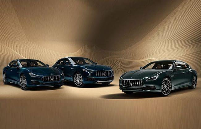 Maserati introduces limited Royale Edition Levante, Ghibli, Quattroporte