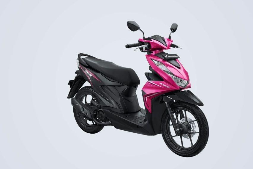 Honda Beat warna pink