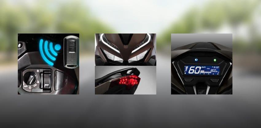 Honda Click 150i features